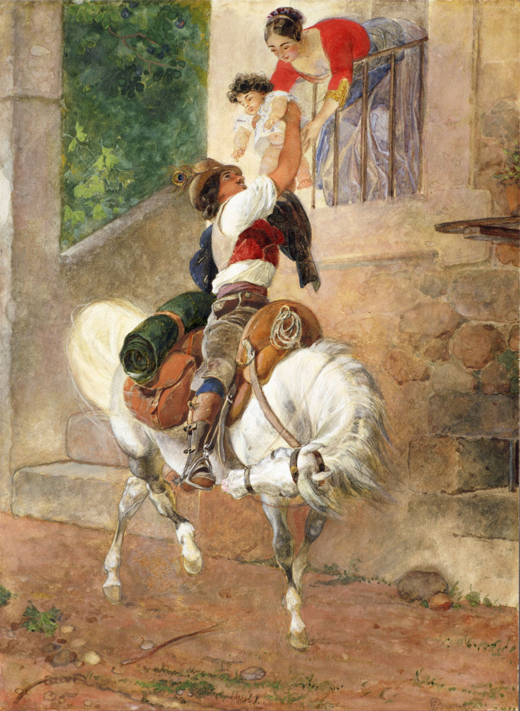 Возвращение римского пастуха домой