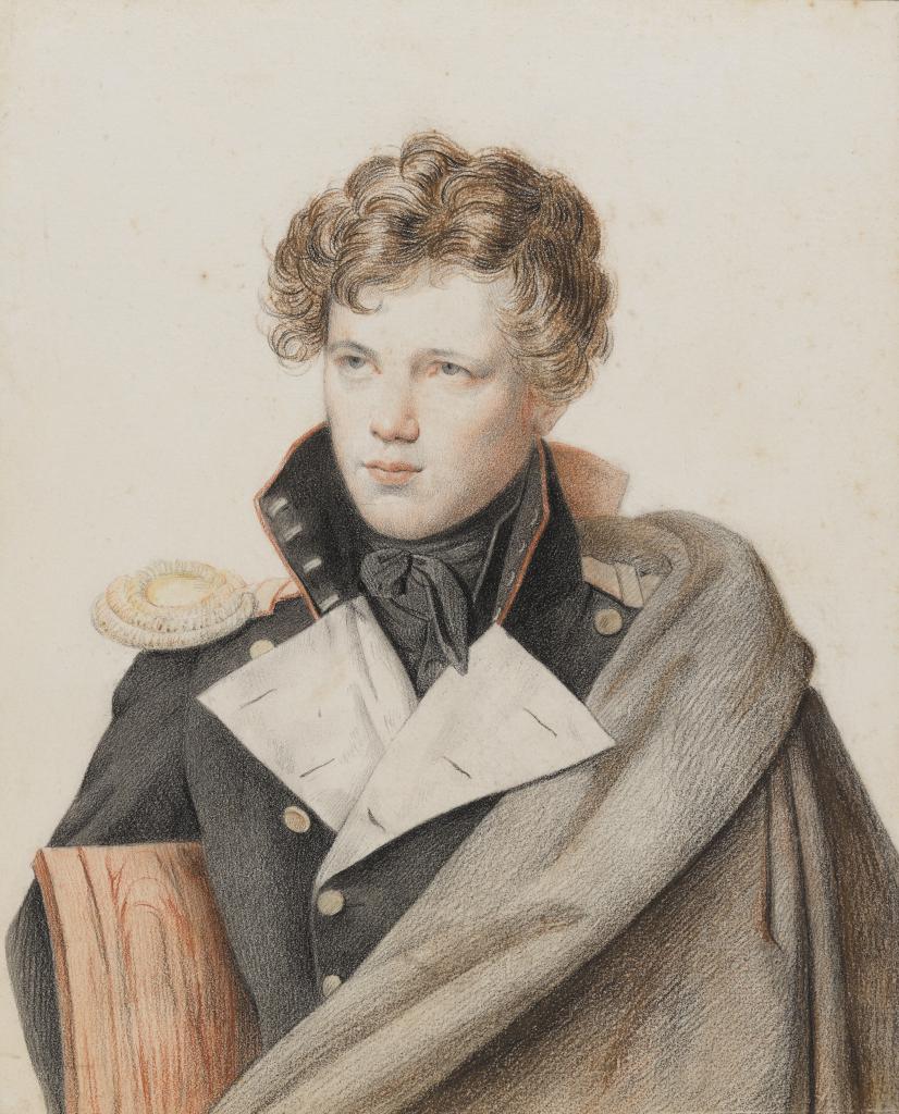 Портрет графа Е.Е.Комаровского