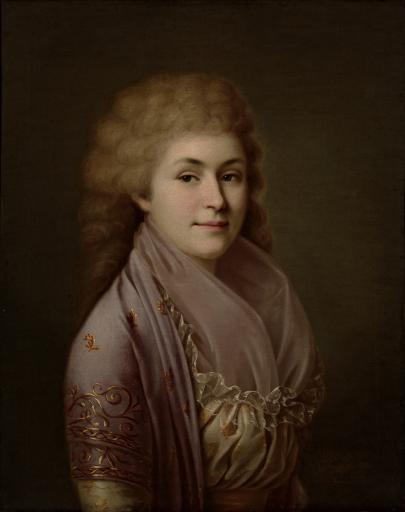 Портрет Н.А. Грибовской