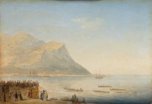 Прибытие императрицы Александры Федоровны в Палермо в 1845 году