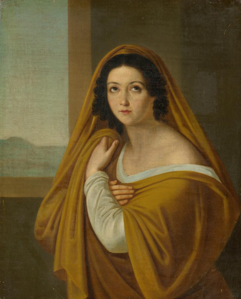 Портрет княгини Е.И. Голицыной