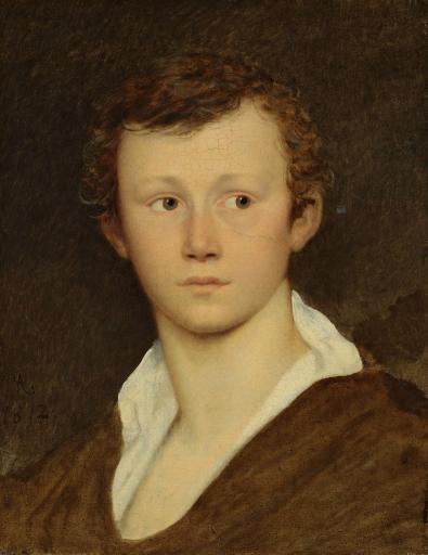 Голова юноши. Портрет В.П. Суханова