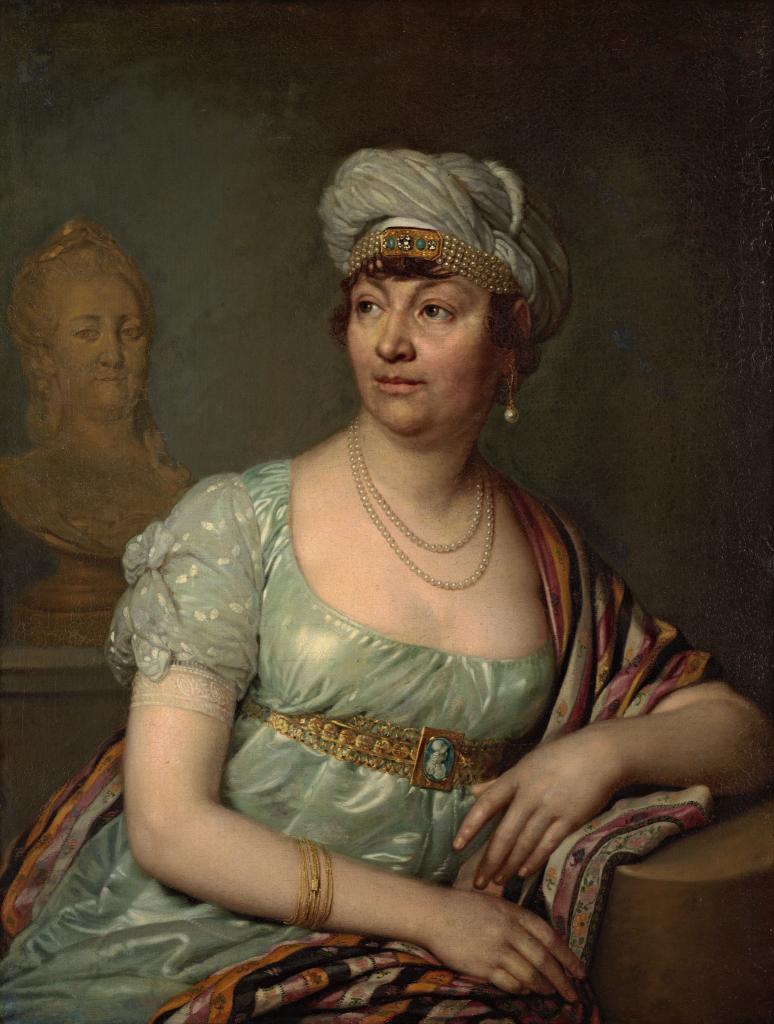 Портрет Анны Луизы Жермены де Сталь (?)