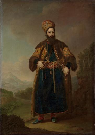 Портрет Муртазы-Кули-Хана