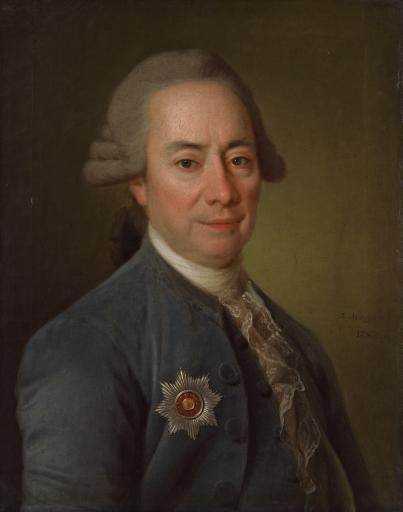 Портрет П.В. Бакунина Большого