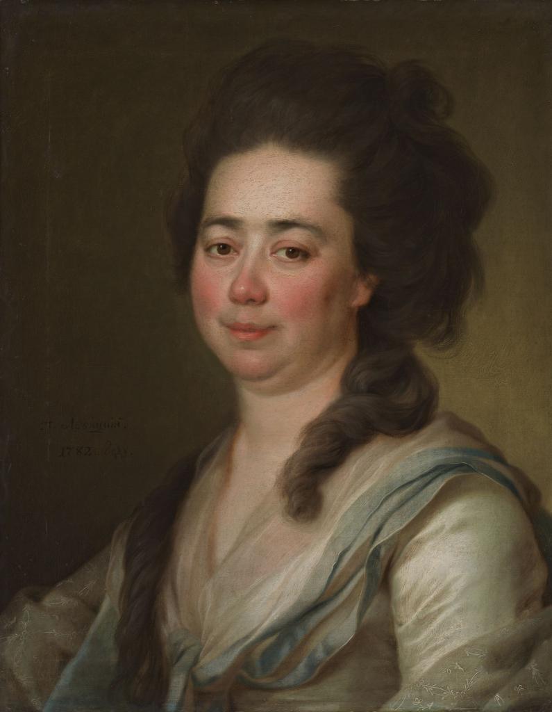 Портрет Е.А. Бакуниной