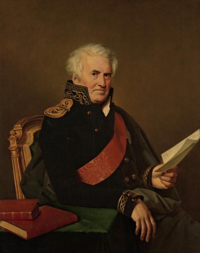 Портрет А.С. Шишкова в адмиральском мундире