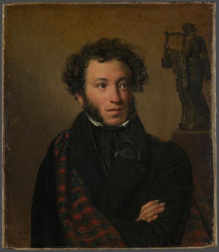 Портрет поэта А.С. Пушкина