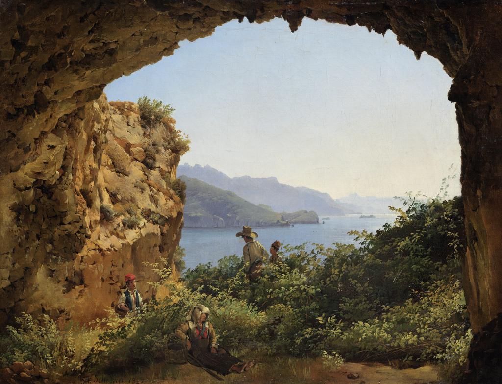 Грот Матроманио на острове Капри