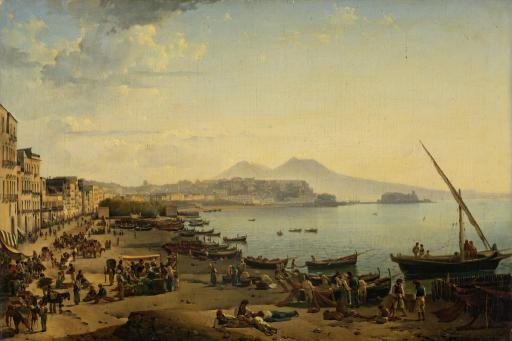 Вид Неаполя. Ривьера ди Кьяйя