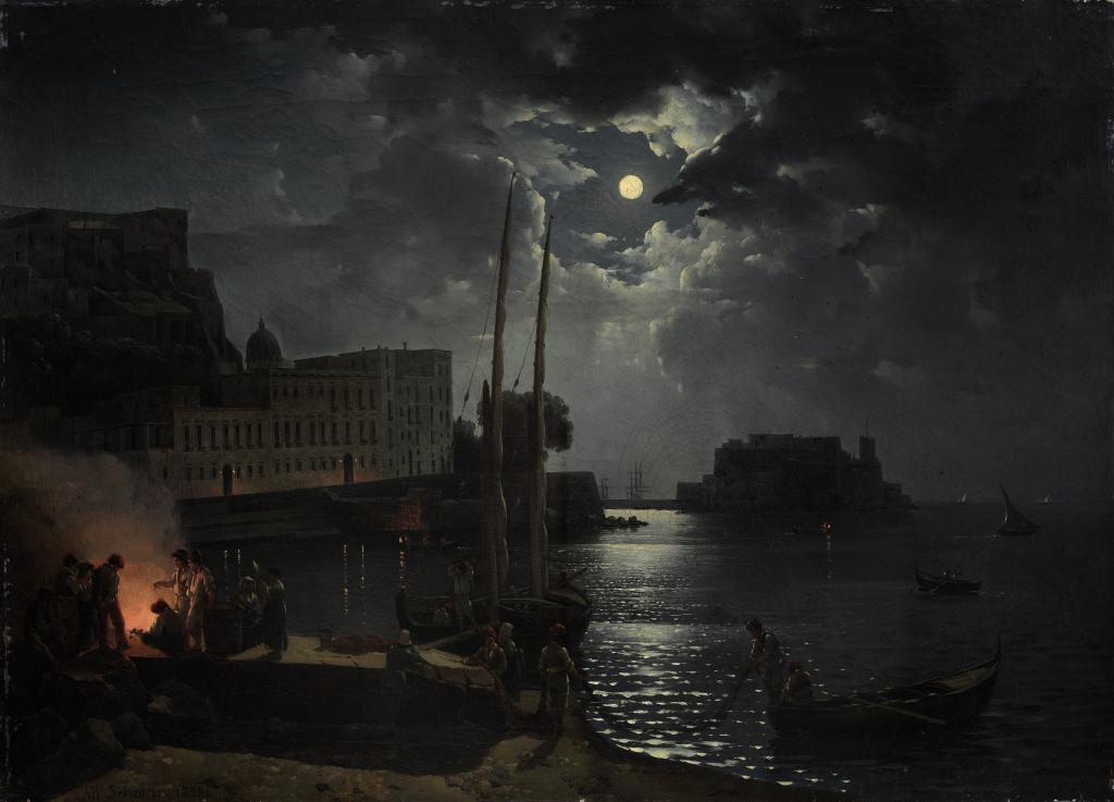 Лунная ночь в Неаполе