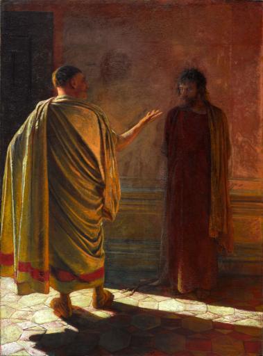 """""""Что есть истина?"""". Христос и Пилат"""
