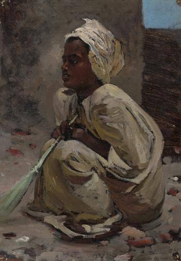 Джума. Мальчик из Нижней Нубии