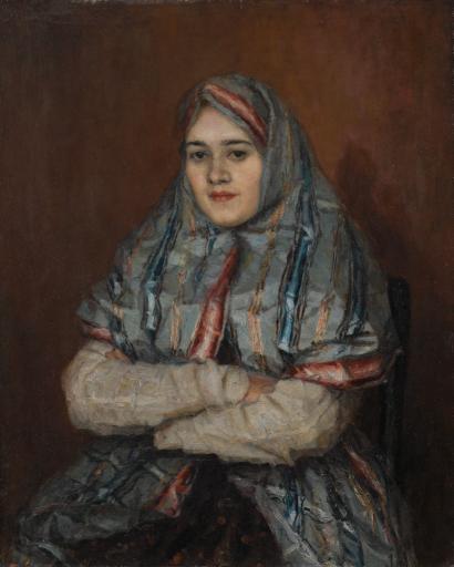 Горожанка. Портрет А.И.Емельяновой