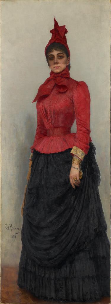 Портрет баронессы В.И.Икскуль фон Гильденбандт