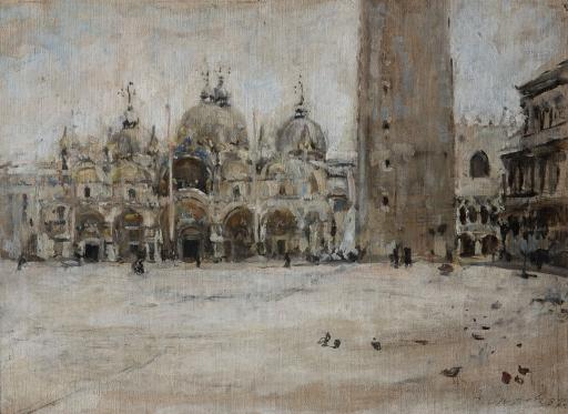 Площадь Св.Марка в Венеции