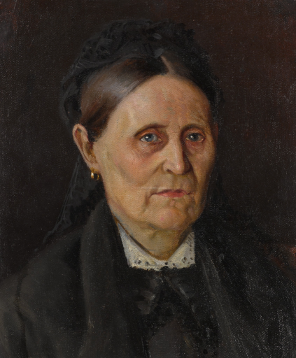 Портрет М.М. Нестеровой