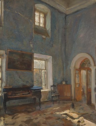 Зал старого дома