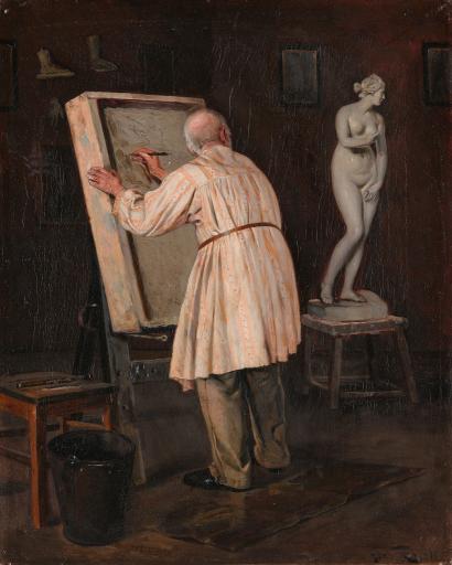 Старый художник