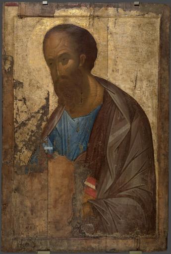"""Апостол Павел, из Деисусного (""""Звенигородского"""") чина"""