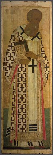 Святитель Григорий Богослов, из Деисусного чина