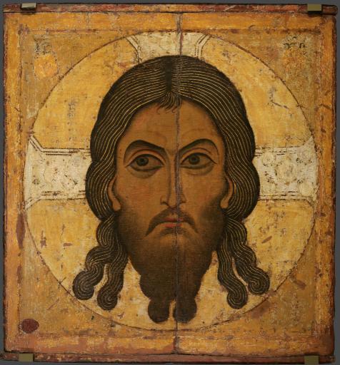 Спас Нерукотворный. Прославление Креста. Двусторонняя икона