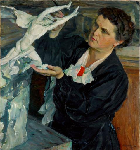 Портрет В.И.Мухиной