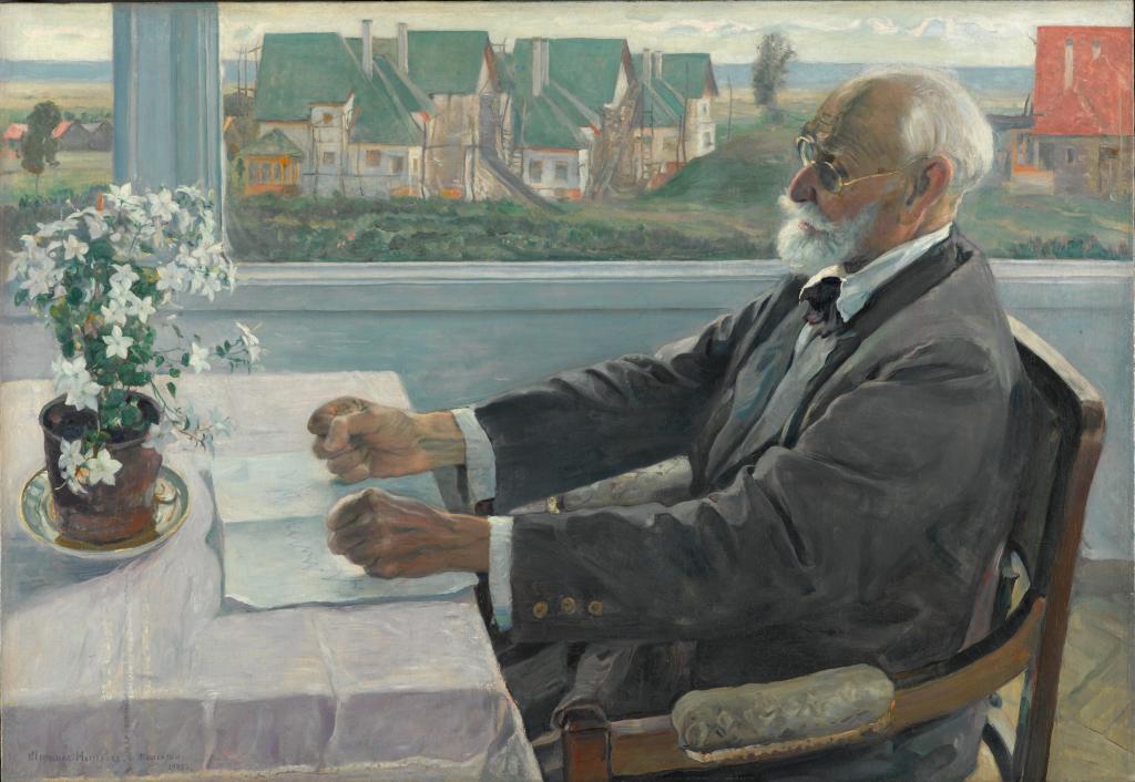 Портрет академика И.П.Павлова