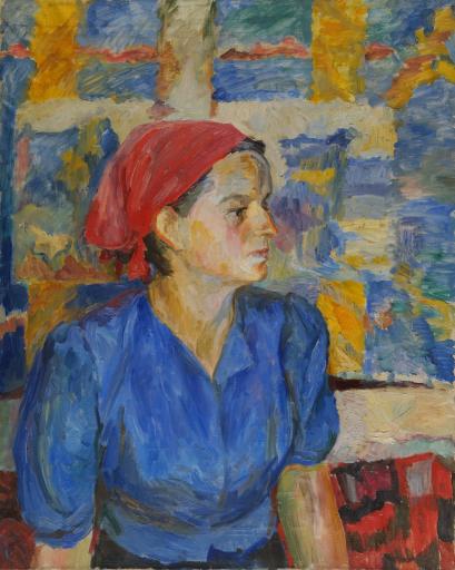 Портрет В.К.Федяевской