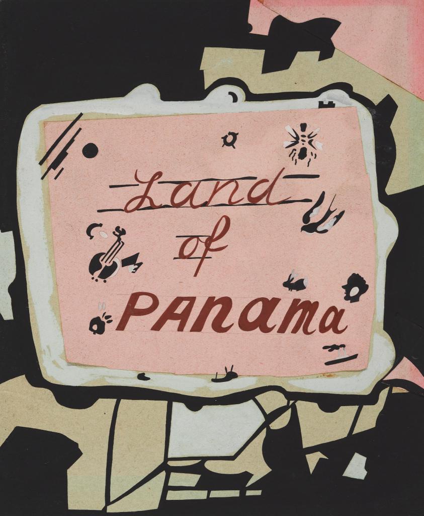 "Эскиз обложки книги ""Land of Panama"""