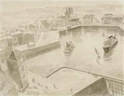 Порт в Дьеппе