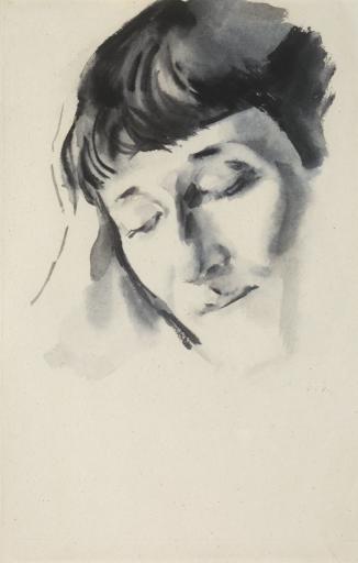 Лицо Анны Ахматовой