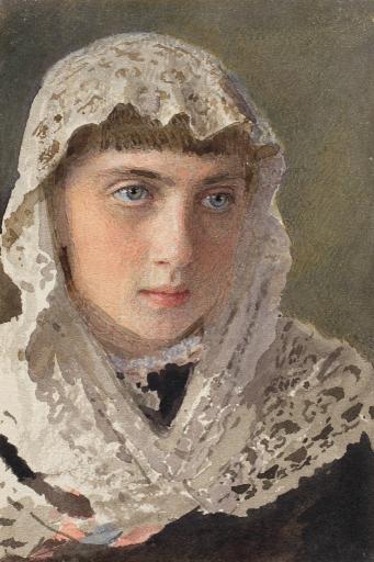 Портрет С.И.Крамской