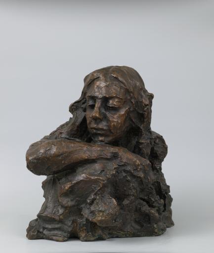 Портрет скульптора Е.Д. Никифоровой