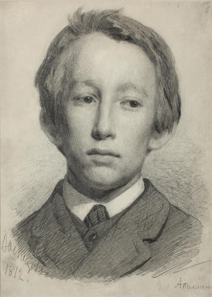 Портрет А.М. Васнецова