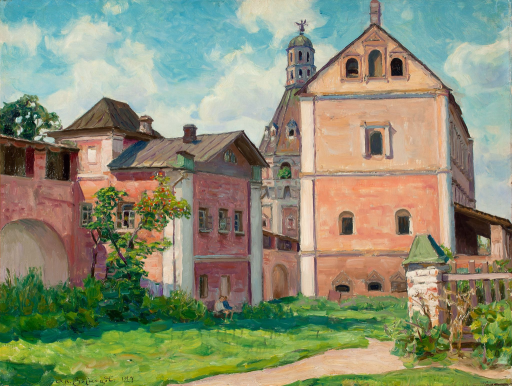 Башня Дуло и корпус Сушило. Симонов монастырь