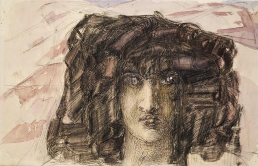Голова Демона. Иллюстрация к поэме М.Ю.Лермонтова «Демон»