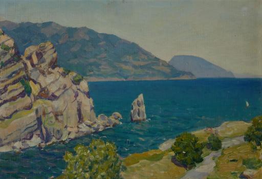 Крым. Вид из Ласточкина гнезда