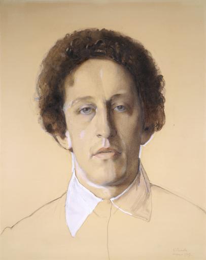Портрет поэта Александра Александровича Блока (1880-1921)