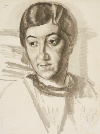 Портрет М.Ф. Петровой-Водкиной, жены художника