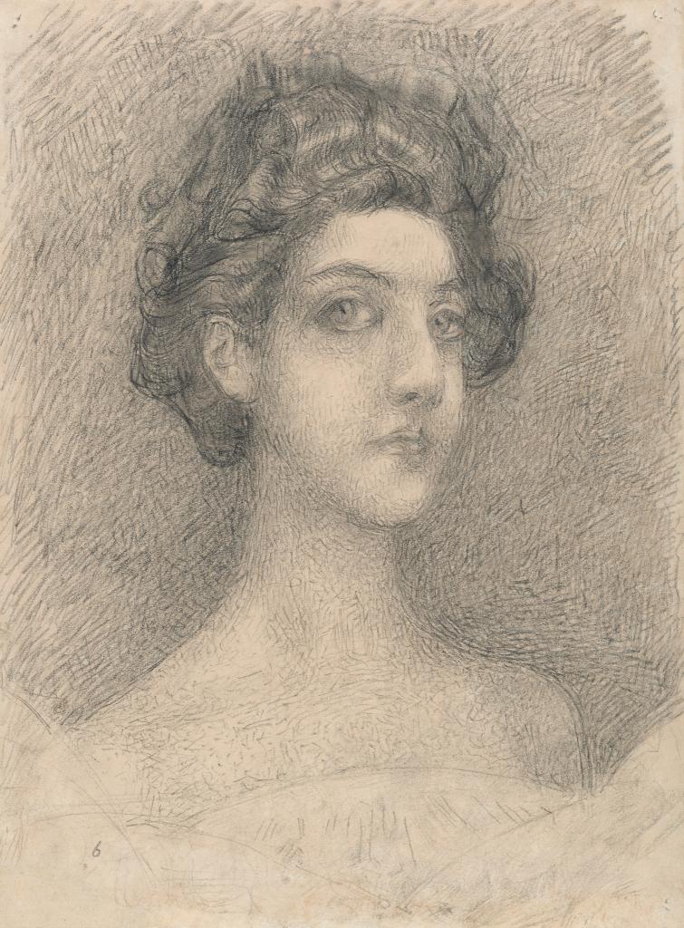 Портрет жены  (Н.И.Забелы-Врубель)